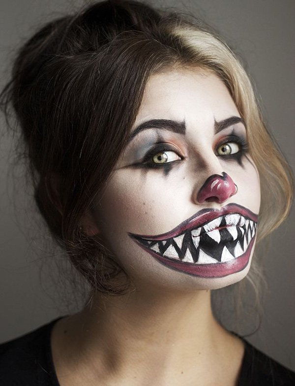 Halloween Clown Makeup Idea